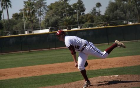 Varsity baseball strikes out Marcos de Niza