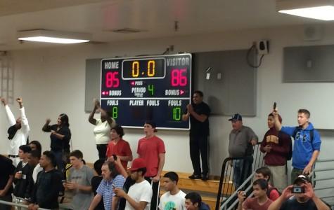 Varsity Boys Basketball defeats Tempe High 86-85