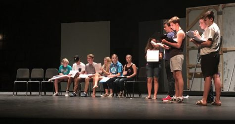 Drama works on upcoming fall play