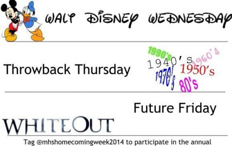 Dress up for Homecoming week