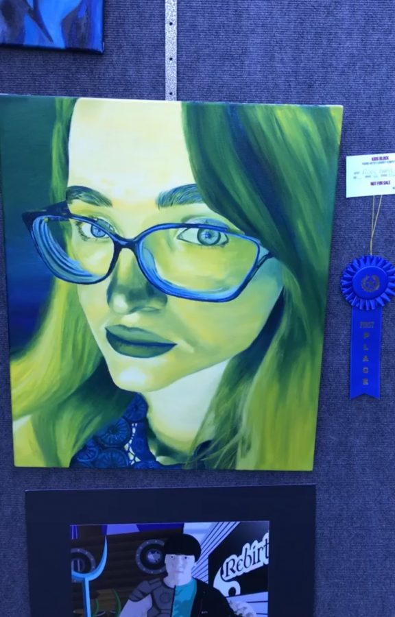 Riley+Barry+takes+first+place+in+art+competition