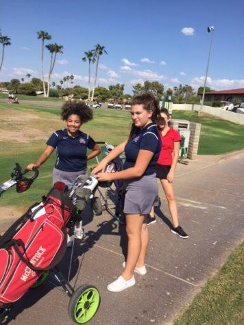 Girls Golf nears end of season