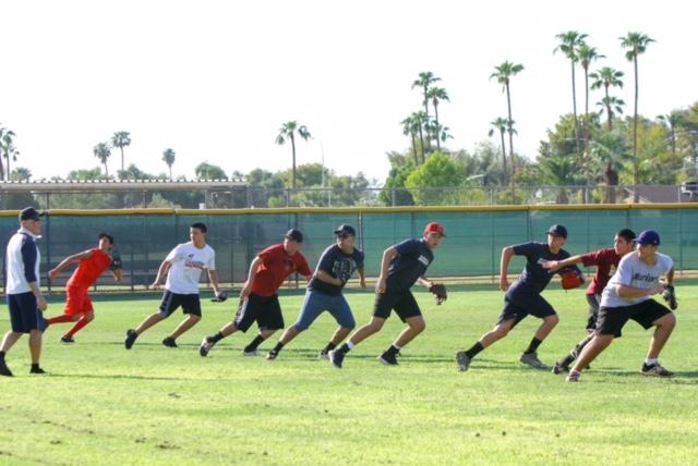 Baseball starts Open Field workouts