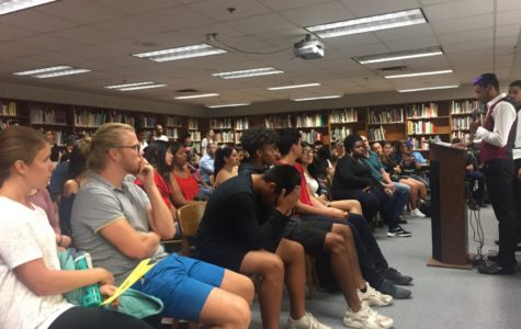 Students share immigration stories