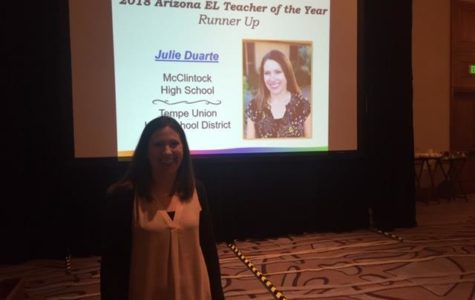 Literacy Specialist Julie Duarte recognized by Arizona Department of Education