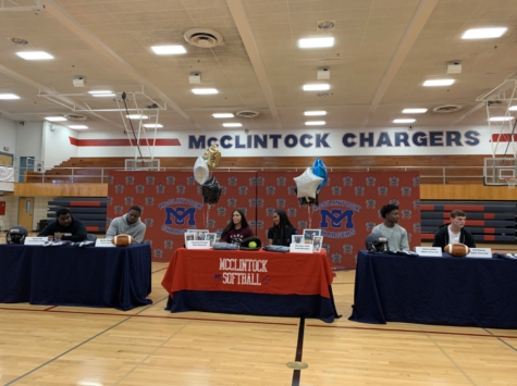 Charger athletes sign on National Signing Day