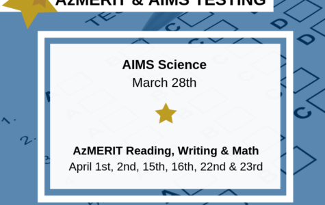 AIMS and AzMERIT: McClintock preps for state standardized testing