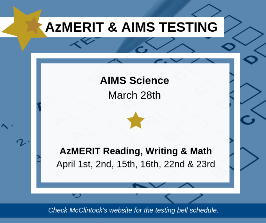 AIMS+and+AzMERIT%3A+McClintock+preps+for+state+standardized+testing