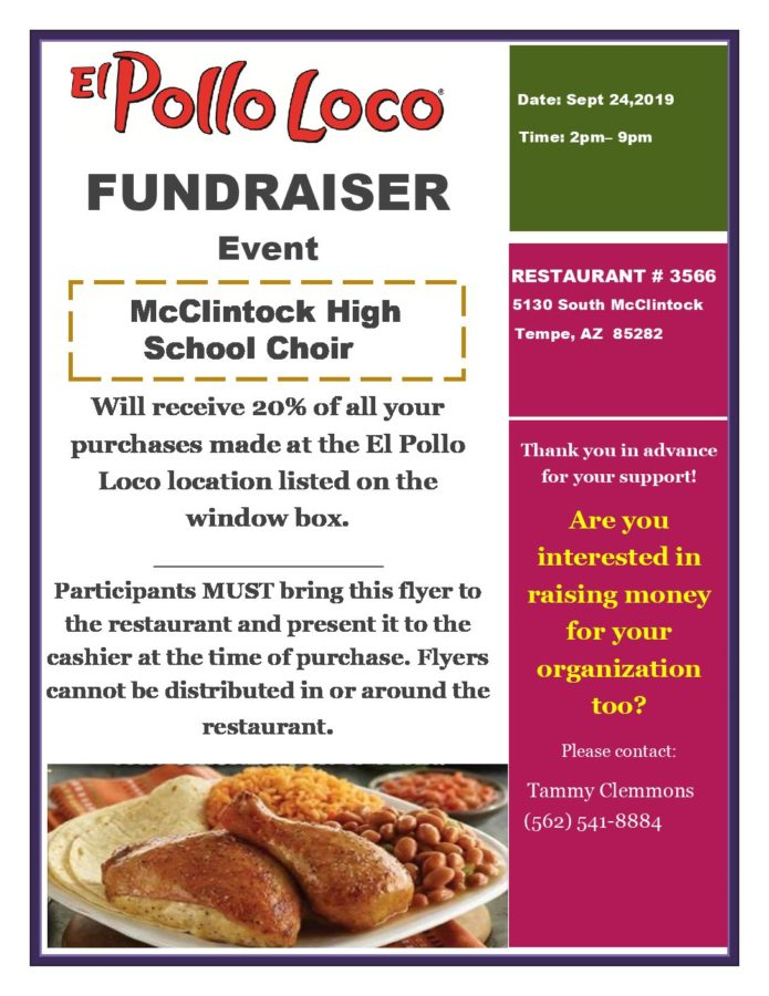 Choir+hosts+El+Pollo+Loco+fundraiser