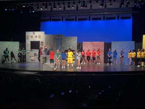 McClintock drama students perform first production of the school year, a comedy improv show.