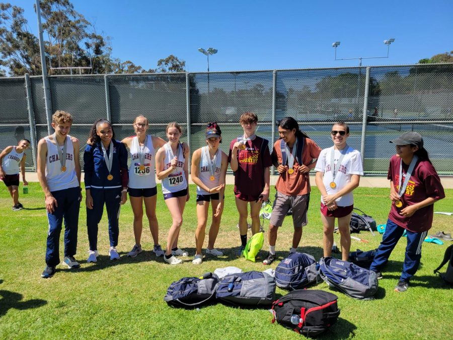 Cross Country shows well at Interstate meet