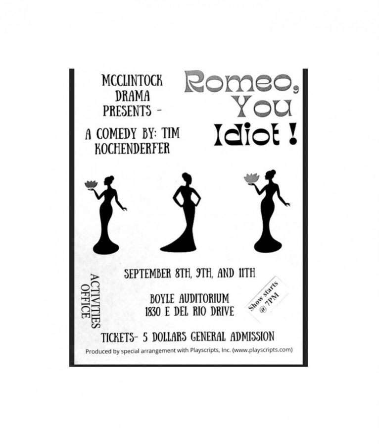 Romeo, You Idiot Rescheduled for October 16